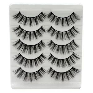 NEW! BACK IN! WISPY MINK FALSE LASHES 5 PAIR